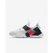 Nike Air Huarache Lifestyle Shoes Mens Pure Platinum/Racer Pink/Bleached Aqua/Black (867ANKOX)