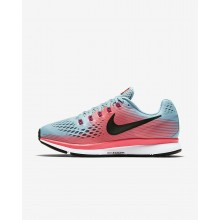 Nike Air Zoom Running Shoes For Women Racer Pink/Mica Blue/Sport Fuchsia/White (880SWJNK)