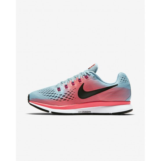 Nike Air Zoom Running Shoes Womens Racer Pink/Mica Blue/Sport Fuchsia/White (880SWJNK)