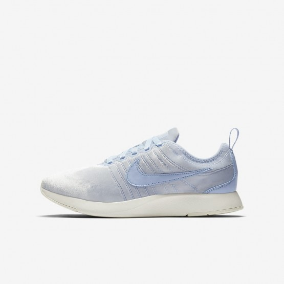 Nike Dualtone Racer Lifestyle Shoes Girls Royal Tint/Sail (885UPKFM)