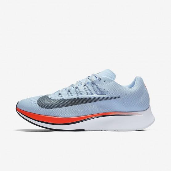 Nike Zoom Fly Running Shoes Mens Ice Blue/Bright Crimson/University Red/Blue Fox (905LODVB)