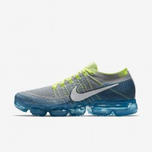 Nike Air VaporMax Running Shoes For Men Wolf Grey/Chlorine Blue/Photo Blue/White (913FPOZR)