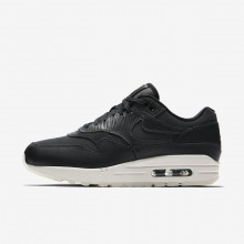Nike Air Max 1 Lifestyle Shoes Womens Anthracite/Black/Summit White (918DVIOC)