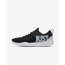 Nike Free Trainer Training Shoes For Women Black/Wolf Grey (926BIVWD)