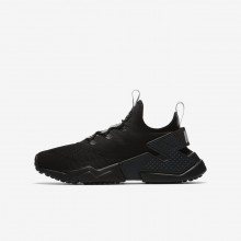 Nike Huarache Lifestyle Shoes Boys Anthracite/Dark Grey/Wolf Grey (929MHOIX)
