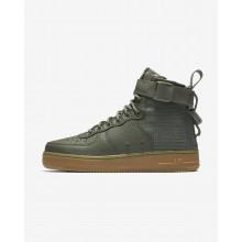 Chaussure Casual Nike SF Air Force 1 Femme Foncé Marron Clair (939ABLQP)