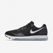 Nike Zoom All Out Running Shoes For Men Black/Anthracite/White (939GIVFP)