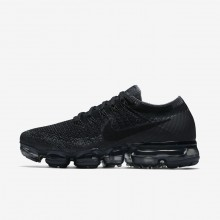 Nike Air VaporMax Running Shoes Womens Black/Dark Grey/Anthracite (939MRDLE)