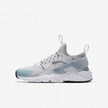 Nike Air Huarache Lifestyle Shoes For Boys Pure Platinum/White/Ocean Bliss (941MOJPX)