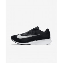 Nike Zoom Fly Running Shoes Mens Black/Anthracite/White (944ZLQVI)