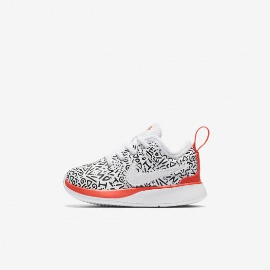 Chaussure Casual Nike Dualtone Racer Garcon Blanche/Noir (951SELKM)