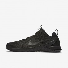 Nike Metcon DSX Training Shoes Mens Black/Hyper Crimson (954FADVO)