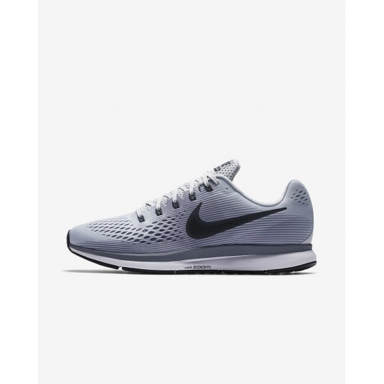 Nike Air Zoom Running Shoes For Men Pure Platinum/Cool Grey/Black/Anthracite (959YUKIW)