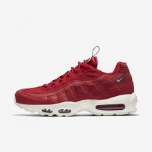 Nike Air Max 95 Lifestyle Shoes For Men Gym Red/Gym Blue/Sail (960FSYND)
