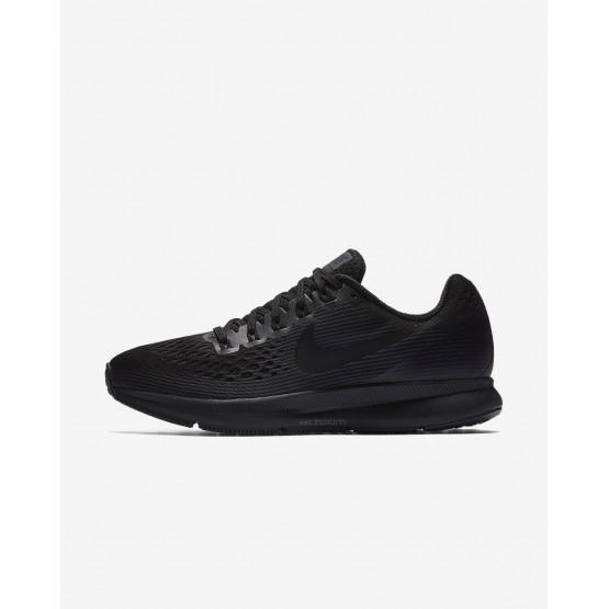 Nike Air Zoom Running Shoes Womens Black/Anthracite/Dark Grey (974GDPKI)