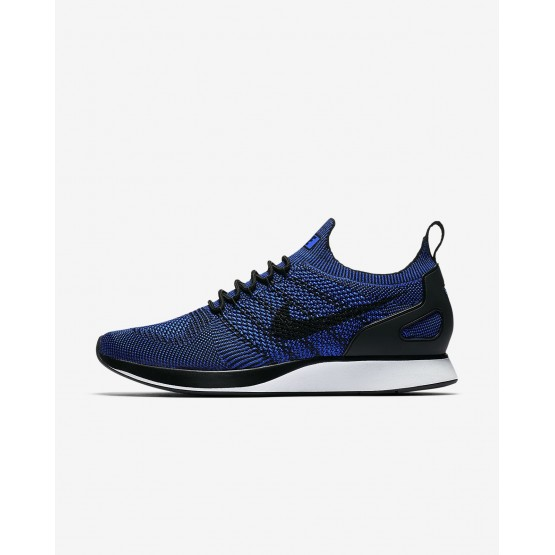 Nike Air Zoom Lifestyle Shoes Mens Black/White/Racer Blue (976UAREO)
