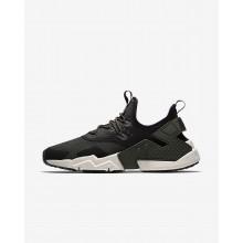 Nike Air Huarache Lifestyle Shoes Mens Sequoia/Black/White/Light Bone (978SOUJK)
