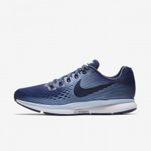 Nike Air Zoom Running Shoes Womens Blue Recall/Royal Tint/Black/Obsidian (980QZHVO)