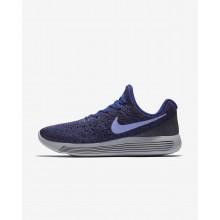 Nike LunarEpic Low Running Shoes Womens Dark Raisin/Deep Royal Blue/Black/Light Thistle (981SNRQW)