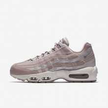 Nike Air Max 95 Lifestyle Shoes For Women Particle Rose/Vast Grey/Summit White (985AUROF)