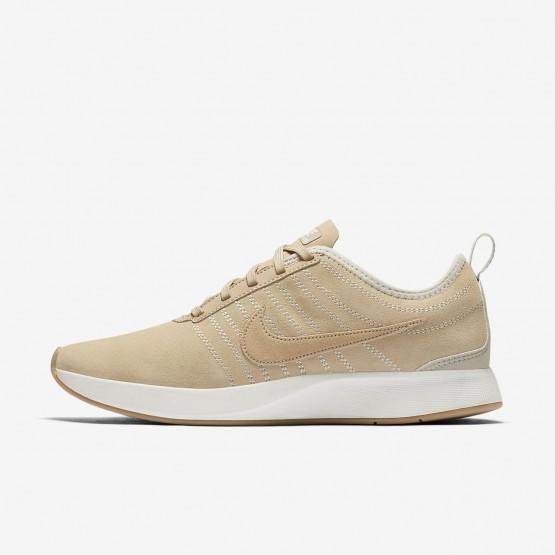 Nike Dualtone Racer Lifestyle Shoes Womens Mushroom/Summit White/Gum Light Brown (986JSVTK)