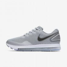 Nike Zoom All Out Running Shoes Womens Wolf Grey/Cool Grey/White/Black (999HSTMV)